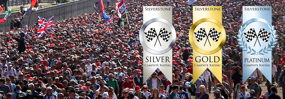 Crowds at Silverstone
